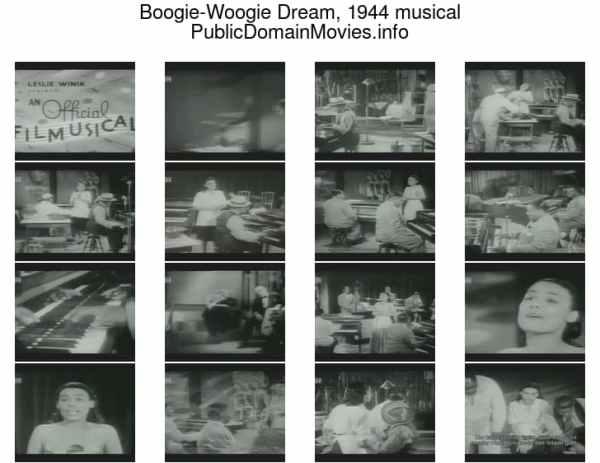 Boogie-Woogie Dream, 1944 musical