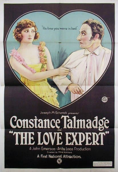 The Love Expert, 1920