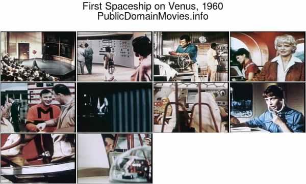 First Spaceship on Venus, 1960