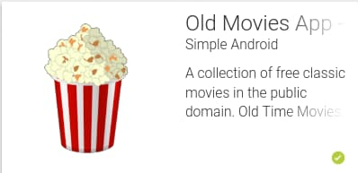 Old Time Movies App