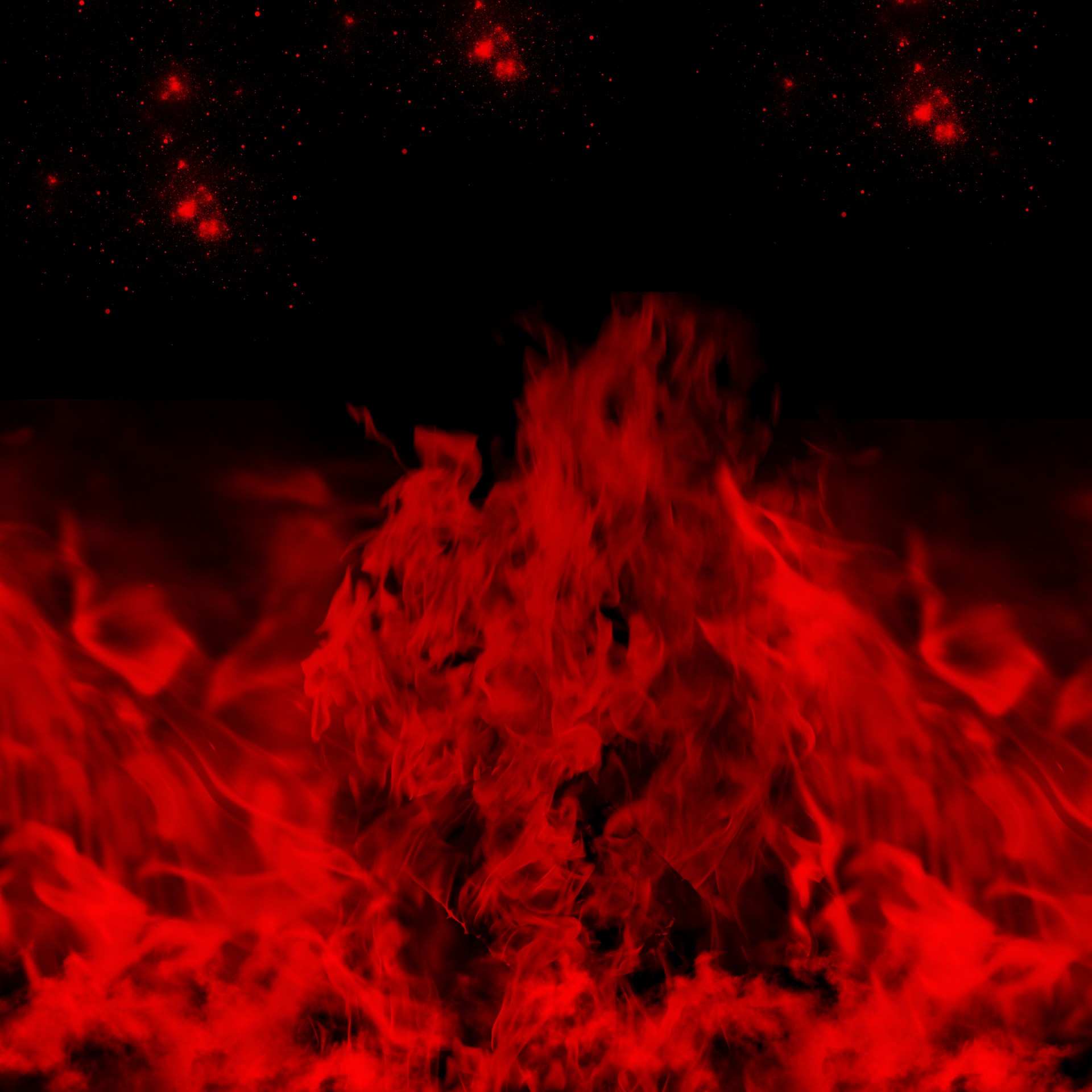 Flame Blast Red And Black Free Stock Photo  Public Domain