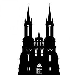castle gothic silhouette domain publicdomainpictures