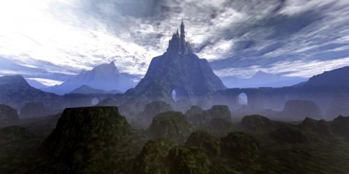 fantasy castle medieval background epic mountain wolf domain fort telltale novel signs reading publicdomainpictures