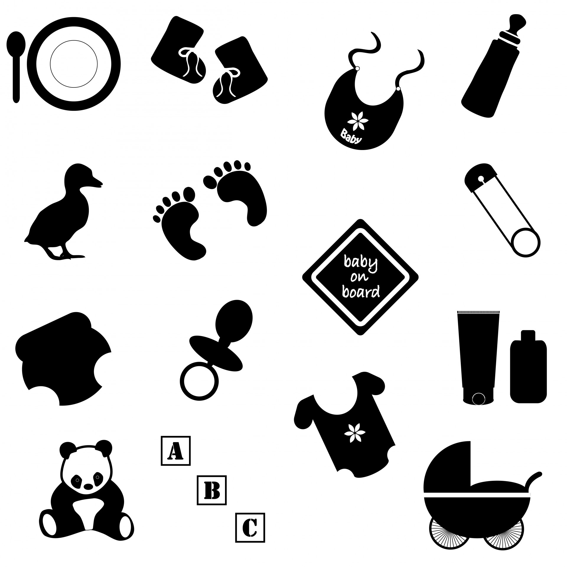Baby Accessories Amp Toys Free Stock Photo