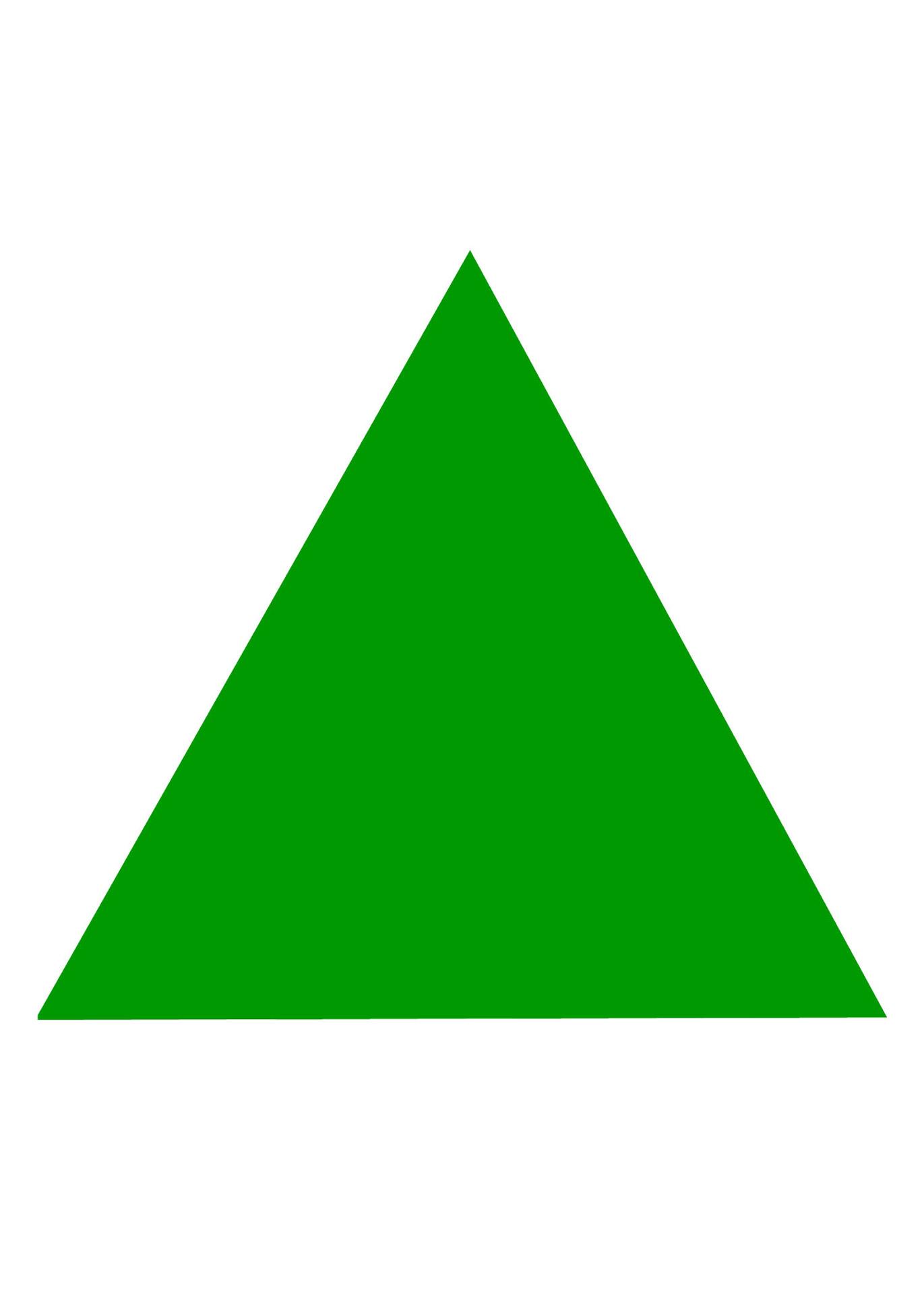 Basic Triangle Shape Free Stock Photo