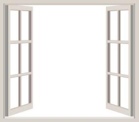 window open frame clipart blank through