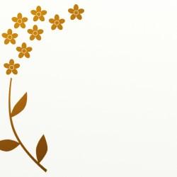 border gold leaf flower background simple clip frame flowers backgrounds borders clipart boarder edge pixabay illustration freeimageslive frames deco lines