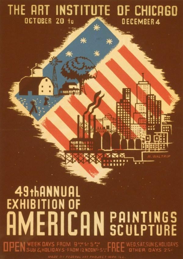 American Vintage Art Public-Domain