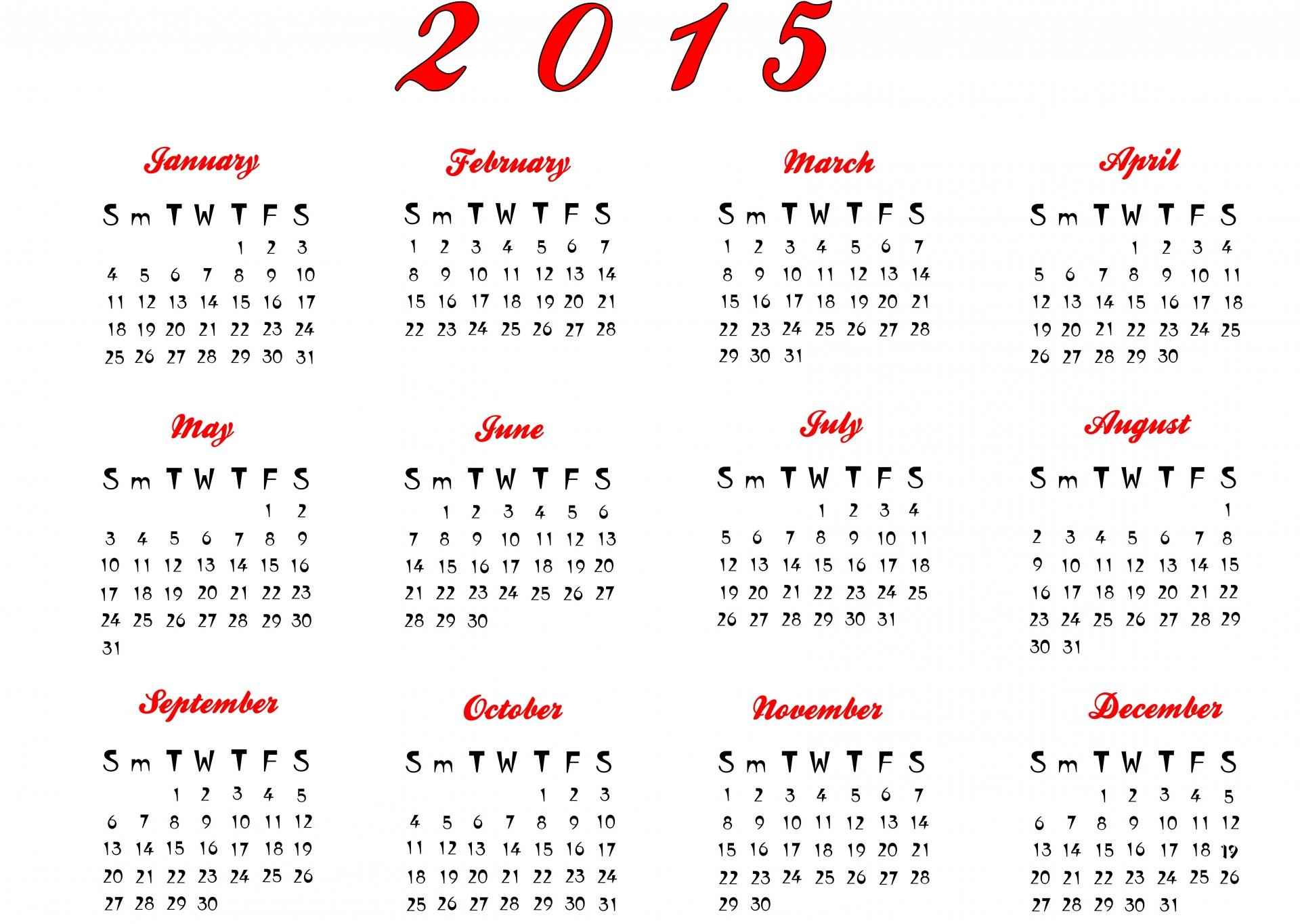 calendar templete