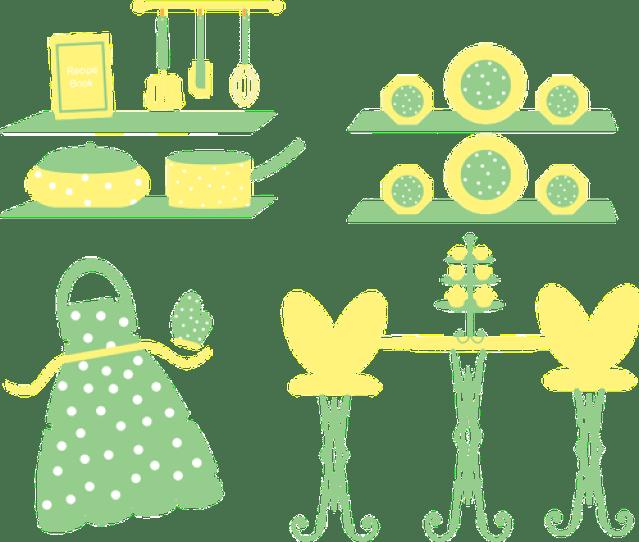 Retro Kitchen Utensils