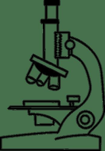 blank microscope diagram to label catalyst energy mikroskop-abbildung | public domain vektoren