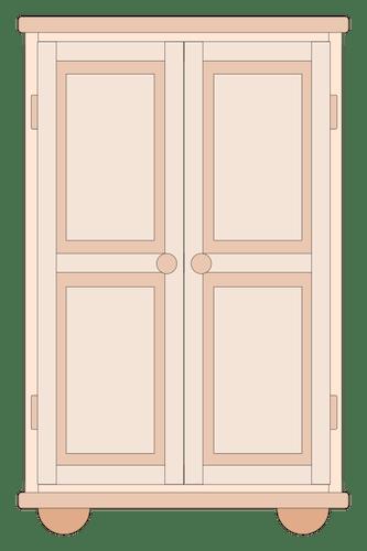 Cupboard Drawing Public Domain Vectors