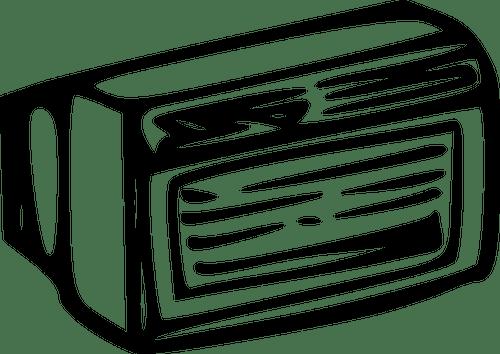 air conditioner vector image