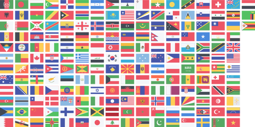 countries flags public domain
