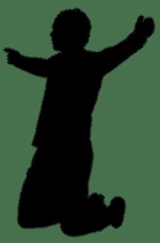 Vector de silueta de jugador de ftbol dibujo  Vectores