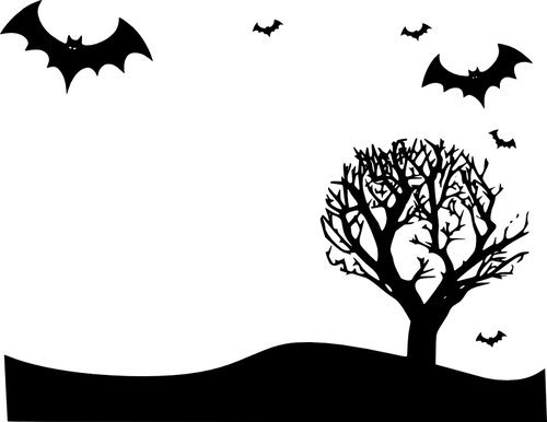 Scary Halloween Borders And Frames