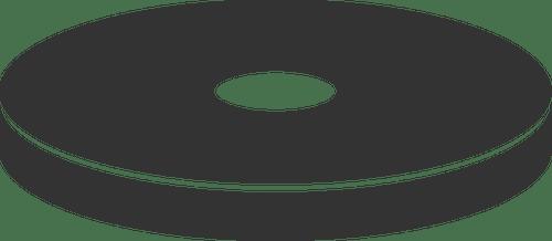 Disc Silhouette Public Domain Vectors