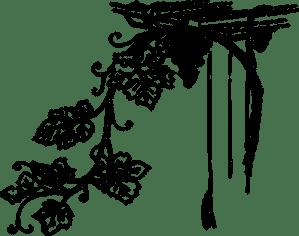 Weinrebe mit seiner BlätterVektorClipArts | Public