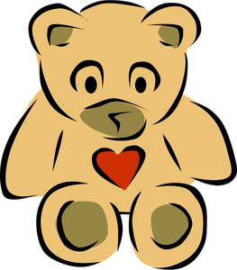 7145 free clipart teddy