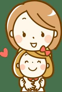 10+ Sketsa Gambar Animasi Ibu Dan Anak Perempuan