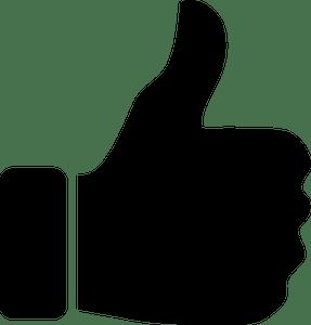 78 acungan jempol clipart gratis  Domain publik vektor