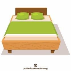122 bed free clipart Public domain vectors