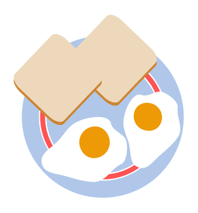 ✓ Gambar Animasi Roti Bakar