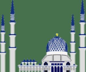 41 masjid clipart gratis  Domain publik vektor