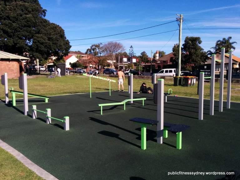 Sydney Public Fitness Stations