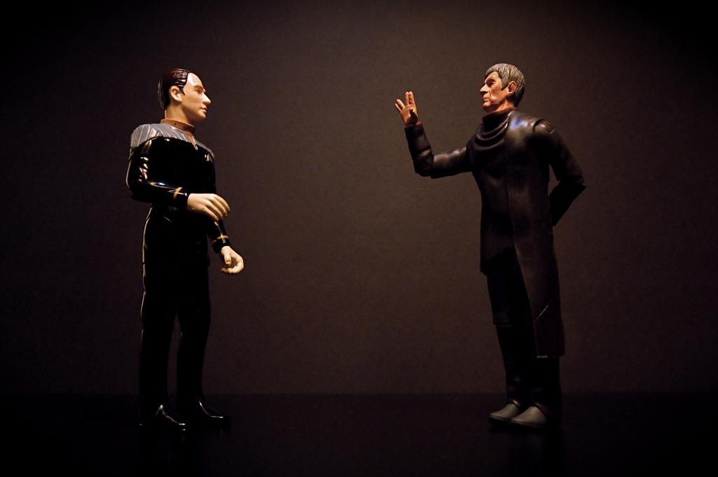 Data vs. Spock, JD Hancock, CC-BY, https://flic.kr/p/7K6TWX