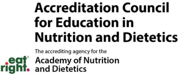 MPH in Nutrition (Coordinated Program in Dietetics