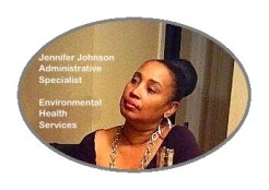 Our administrative specialists like Jennifer keep our department running!