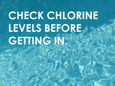 The Centers for Disease Control say the following about chlorination: Proper free chlorine level (1–3 mg/L or parts per million [ppm]) and pH (7.2–7.8) maximize germ-killing power. Don't know the levels at your public pool? Just ask!