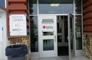 shelter entrance
