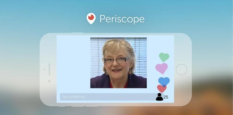 patty on Periscope