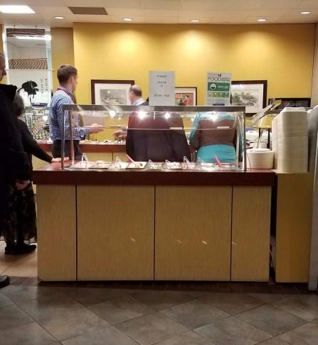 food court buffet