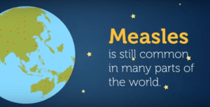 measles is still common