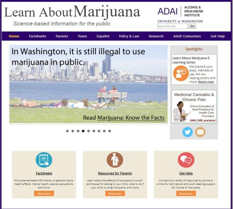 LearnAboutMarijuanaWA.org