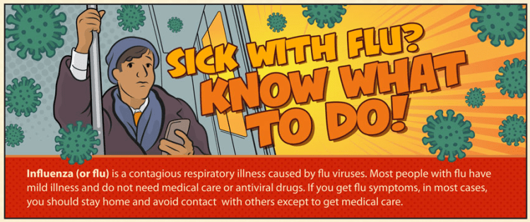 CDC Sick with Flu