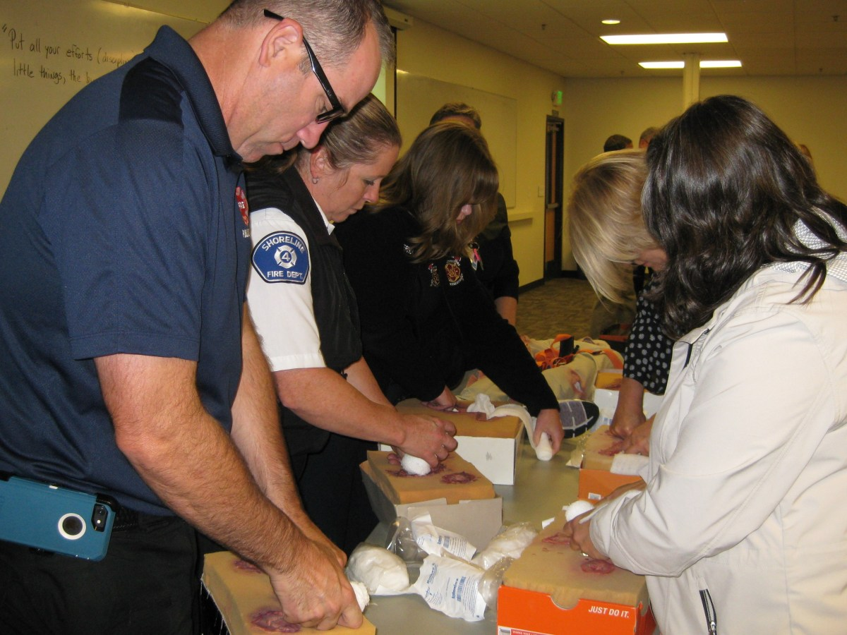Stop the Bleed trains public lifesavers