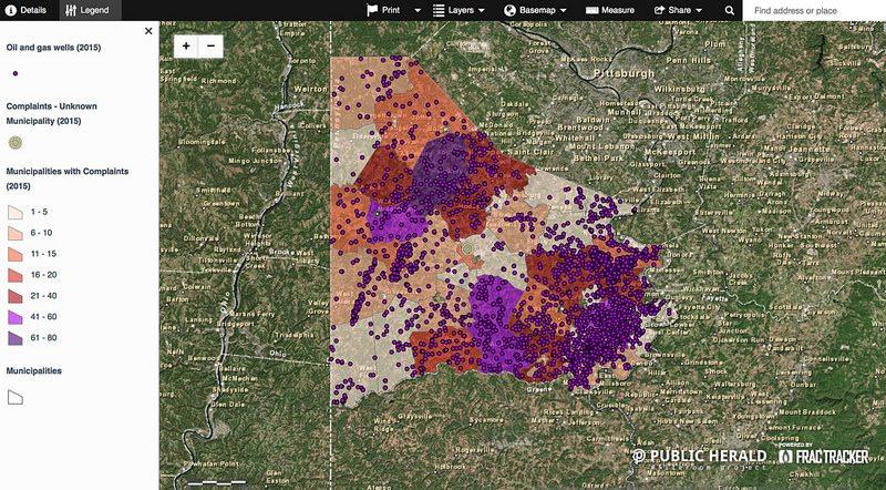 Albany Louisiana Fracking Map