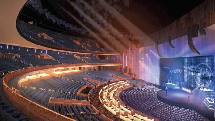 O Hard Rock Live será um espaço polivalente