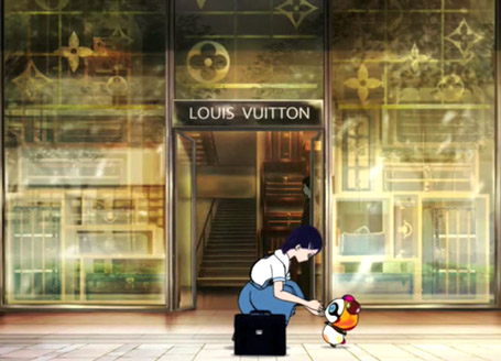 Louis Vuitton First Love Murakami