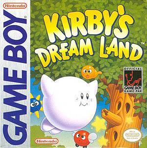Carátula del videojuego de Kirby.