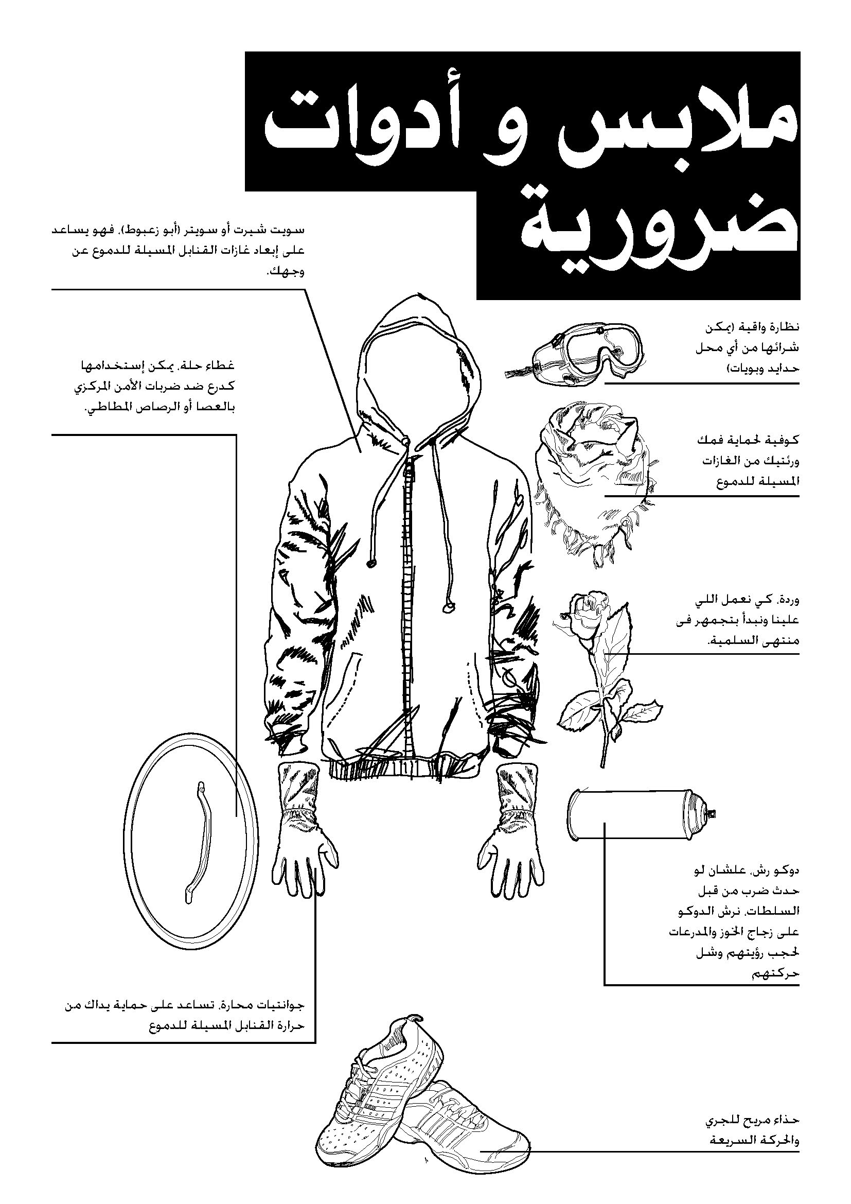 Egyptian Revolution Protest Manual (How to Protest