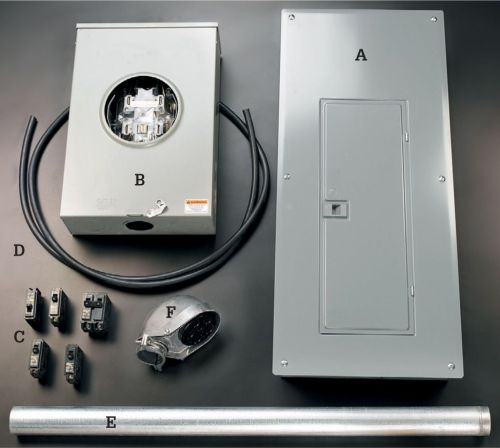 small resolution of it includes a a new 200 amp panel b a 200 amp bypass meter base also called