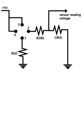 Schematic For Photocell Schematic For Voltage Divider