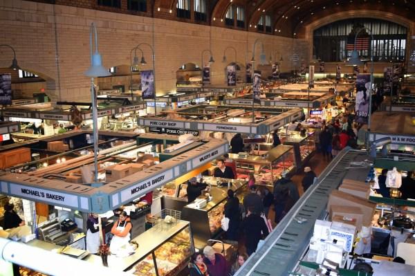 Vendors West Side Market Cleveland Ohio