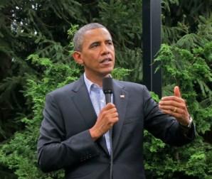 Barack Obama at his Chicago home, 2012. Image: Steve Jurvetson/Creative Commons