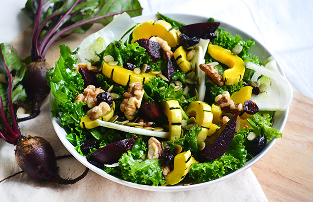 Fall Cleanse Kale Salad